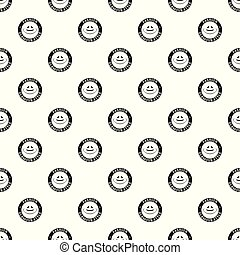 Glamour hat pattern vector seamless repeat for any web...