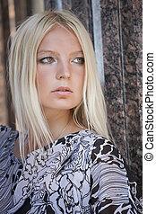 glamour, retrato