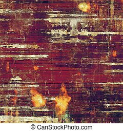 Glamour vintage frame, decorative grunge background. Aged texture with different color patterns: yellow (beige); brown; red (orange); purple (violet); pink