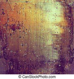 Glamour vintage frame, decorative grunge background. Aged texture with different color patterns: yellow (beige); brown; red (orange); purple (violet); pink; cyan