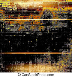 Glamour vintage frame, decorative grunge background. Aged texture with different color patterns: yellow (beige); brown; gray; red (orange); black