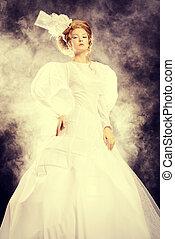 glamourous portrait