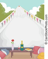 Glamping Wine Tent
