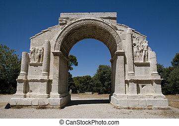 Glanum - The Triumphal arch
