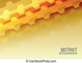 glanzend, abstract ontwerp, geometrisch, achtergrond