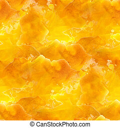 glare from yellow macro watercolor seamless texture and...