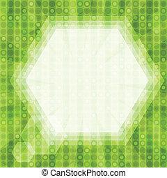 glare green light background