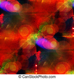 glare light abstract red, purple texture art water color...