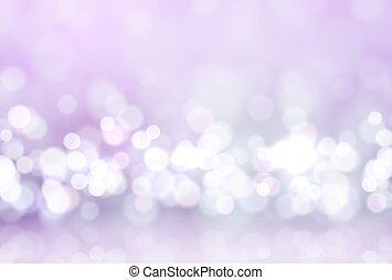 Glare lights bokeh, for holiday background. Magic effect sparkle light.