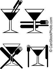 glas, cocktail