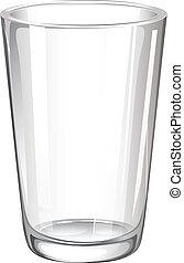glas, drickande