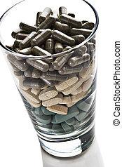 glas, i, vitaminer