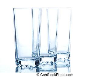 glas, kök