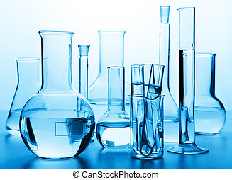 glas, laboratorium, kemisk