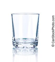 glas, leerer
