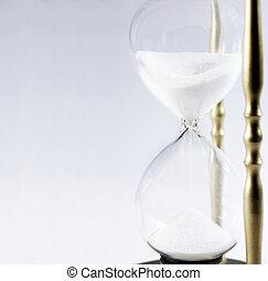 glas, stunde