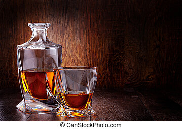 glas, uschotse whisky