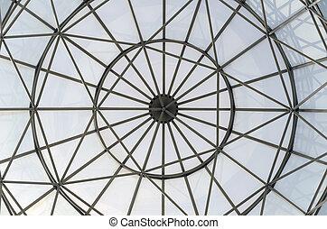 glas vindue, kuppel