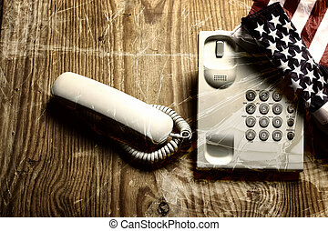 glas, violance, roepen, telefoon, barst