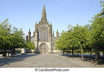 Glasgow-07-0001 - Church of Scotland Cathedral in Glasgow,...