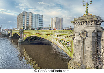 Glasgow Albert Bridge