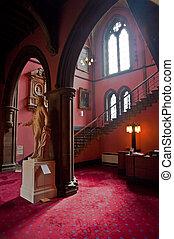 Glasgow University interior