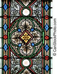 glasmalerei, in, zagreb, kathedrale