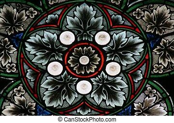 glasmalerei, zagreb, kathedrale
