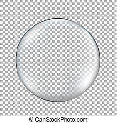 Glass Ball Transparent Background