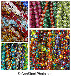 glass beadwork necklaces pattern
