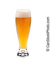 Glass Beer With Foam Top