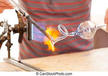 glass-blower