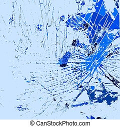 Glass Broken Color - Broken Glass Texture for your design....