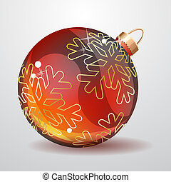 Glass Christmas ball