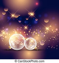 glass christmas bauble background 0812