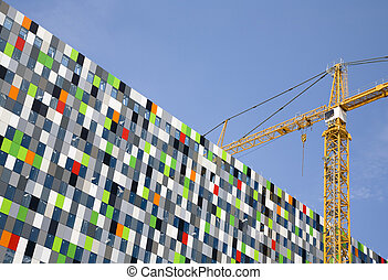 Glass construction - Building a glass construction in The...