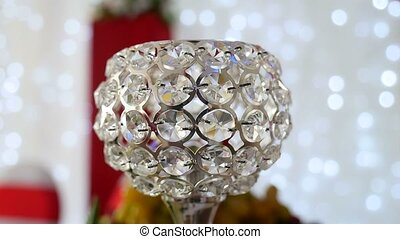 glass cup studded with diamonds shine video - glass cup...