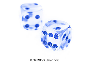 Glass dice