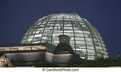 Glass Dome Berlin Reichstag - Time lapse of the Glass Dome...