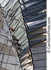 Glass Dome Architecture Of The German Parliament 'Reichstag' in Berlin