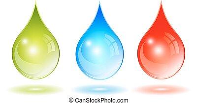 Glass drop icon