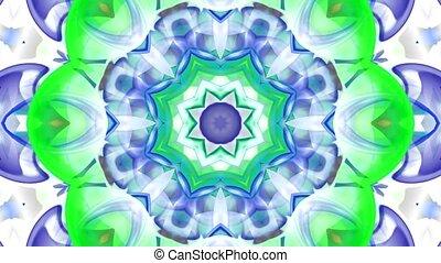 glass flower fancy pattern, Buddhism lotus texture.