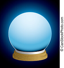 fortune teller crystal ball - glass fortune teller crystal ...