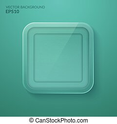 Glass framework. Vector illustration. Eps10