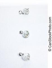 Glass handmade light beads