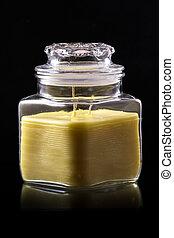 Glass Jar Candle #4