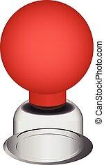 Glass jar for medical procedures