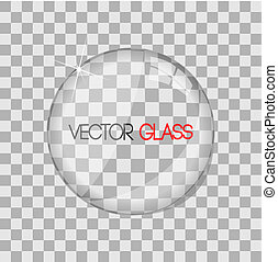 Glass lens illustration - Glass lens illustraiton