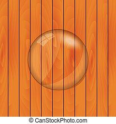 Glass Lens Vector Illustration - Glass lens illustration on ...