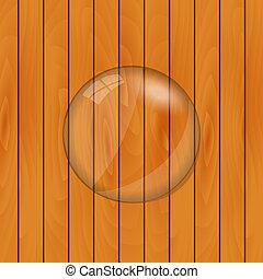 Glass Lens Vector Illustration